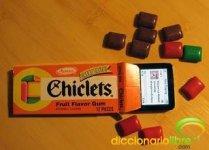 DiccionarioLibre - Chicle
