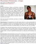 DiccionarioLibre - Chopo